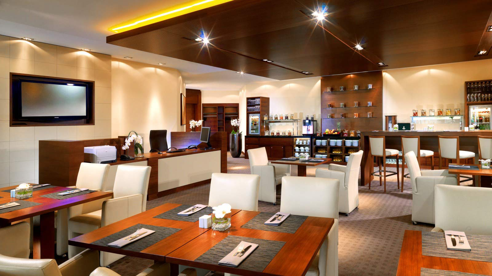 Club Lounge in your Hotel Frankfurt City